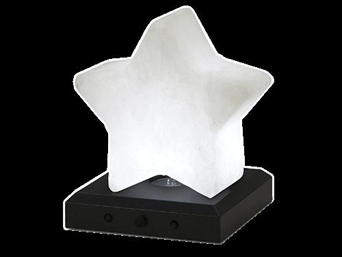 Étoile de cristal de sel